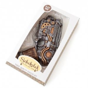 Schokolat Chocolate Steampunk Gun 470g